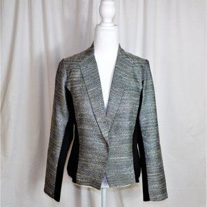 Maurices Silvery Stitched Blazer Jacket